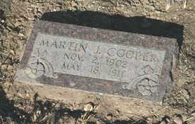 COOPER, MARTIN J. - Duchesne County, Utah   MARTIN J. COOPER - Utah Gravestone Photos