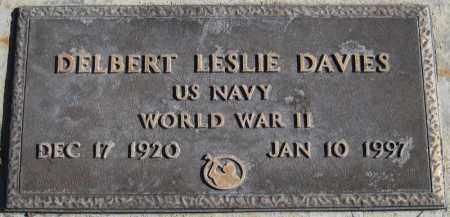 DAVIES, DELBERT LESLIE - Duchesne County, Utah | DELBERT LESLIE DAVIES - Utah Gravestone Photos