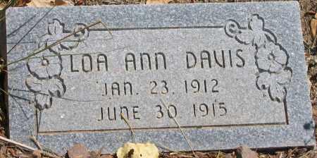 DAVIS, LOA ANN - Duchesne County, Utah | LOA ANN DAVIS - Utah Gravestone Photos