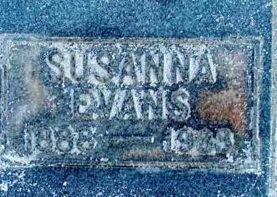 EVANS, SUSANNA (SUSIE) - Duchesne County, Utah   SUSANNA (SUSIE) EVANS - Utah Gravestone Photos