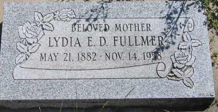 FULLMER, LYDIA ELDORA - Duchesne County, Utah | LYDIA ELDORA FULLMER - Utah Gravestone Photos