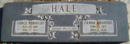 HALE, FRANK BOYNTON - Duchesne County, Utah | FRANK BOYNTON HALE - Utah Gravestone Photos