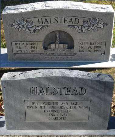 HALSTEAD, RALPH HAROLD - Duchesne County, Utah | RALPH HAROLD HALSTEAD - Utah Gravestone Photos