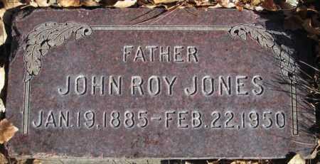 JONES, JOHN ROY - Duchesne County, Utah | JOHN ROY JONES - Utah Gravestone Photos