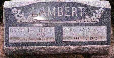 LAMBERT, DARRELL EPHRAIM - Duchesne County, Utah | DARRELL EPHRAIM LAMBERT - Utah Gravestone Photos