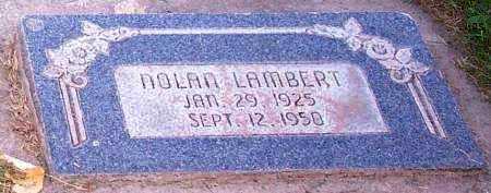 "LAMBERT, NOLAN ""K"" - Duchesne County, Utah | NOLAN ""K"" LAMBERT - Utah Gravestone Photos"