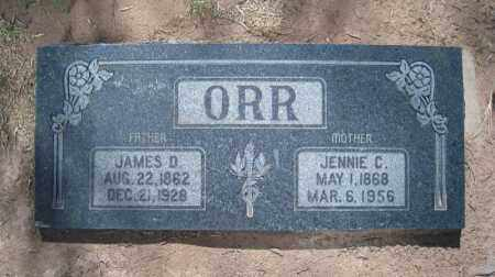 ORR, JAMES D - Duchesne County, Utah | JAMES D ORR - Utah Gravestone Photos