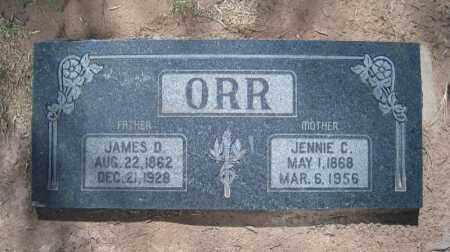 ORR, JENNIE C - Duchesne County, Utah | JENNIE C ORR - Utah Gravestone Photos