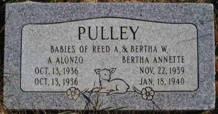 PULLEY, BERTHA ANNETTE - Duchesne County, Utah | BERTHA ANNETTE PULLEY - Utah Gravestone Photos