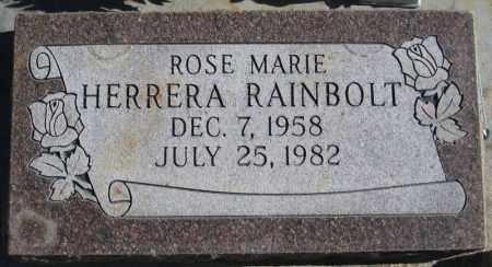 RAINBOLT, ROSE MARIE - Duchesne County, Utah | ROSE MARIE RAINBOLT - Utah Gravestone Photos