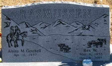 RASMUSSEN, REX W. - Duchesne County, Utah   REX W. RASMUSSEN - Utah Gravestone Photos