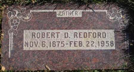 REDFORD, ROBERT D. - Duchesne County, Utah | ROBERT D. REDFORD - Utah Gravestone Photos