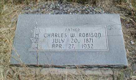 ROBISON, CHARLES WILLIAM - Duchesne County, Utah | CHARLES WILLIAM ROBISON - Utah Gravestone Photos