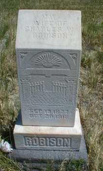 ROBISON, MAY - Duchesne County, Utah | MAY ROBISON - Utah Gravestone Photos