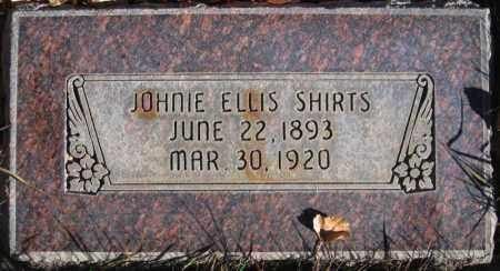 SHIRTS, JOHNIE ELLIS - Duchesne County, Utah | JOHNIE ELLIS SHIRTS - Utah Gravestone Photos