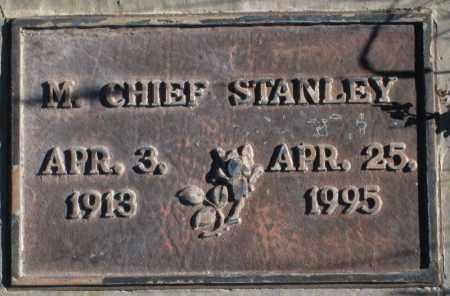 STANLEY, MALONEY CHIEF - Duchesne County, Utah | MALONEY CHIEF STANLEY - Utah Gravestone Photos