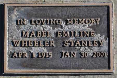 WHEELER, MABEL EMILINE - Duchesne County, Utah | MABEL EMILINE WHEELER - Utah Gravestone Photos