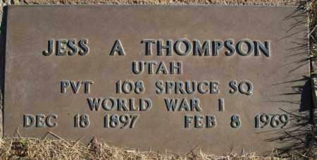 THOMPSON, JESS A - Duchesne County, Utah | JESS A THOMPSON - Utah Gravestone Photos