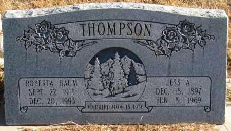 THOMPSON, JESS A. - Duchesne County, Utah | JESS A. THOMPSON - Utah Gravestone Photos