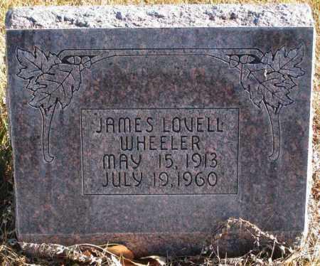 WHEELER, JAMES LOVELL - Duchesne County, Utah   JAMES LOVELL WHEELER - Utah Gravestone Photos