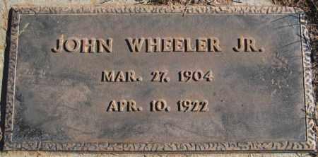 WHEELER, JOHN, JR. - Duchesne County, Utah | JOHN, JR. WHEELER - Utah Gravestone Photos