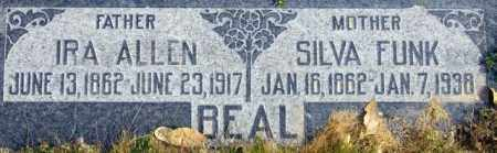 BEAL, IRA ALLEN - Emery County, Utah | IRA ALLEN BEAL - Utah Gravestone Photos