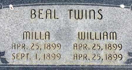 BEAL, WILLIAM - Emery County, Utah | WILLIAM BEAL - Utah Gravestone Photos