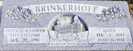 BRINKERHOFF, ZELLA LENORE - Emery County, Utah | ZELLA LENORE BRINKERHOFF - Utah Gravestone Photos