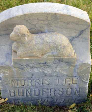 BUNDERSON, MORRIS LEE - Emery County, Utah | MORRIS LEE BUNDERSON - Utah Gravestone Photos