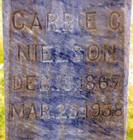 ANDERSEN NIELSEN, CARRIE CHRISTINE - Emery County, Utah | CARRIE CHRISTINE ANDERSEN NIELSEN - Utah Gravestone Photos