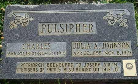 PULSIPHER, JULIA A. - Emery County, Utah | JULIA A. PULSIPHER - Utah Gravestone Photos