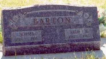 BARTON, ARLO R - Garfield County, Utah | ARLO R BARTON - Utah Gravestone Photos