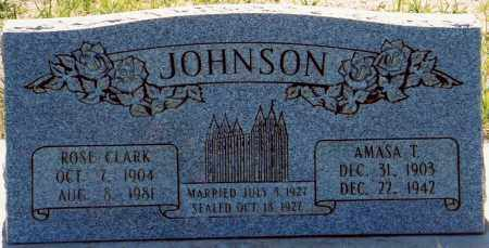 JOHNSON, ROSE - Garfield County, Utah | ROSE JOHNSON - Utah Gravestone Photos