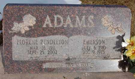 PENDLETON ADAMS, FLORENE - Iron County, Utah | FLORENE PENDLETON ADAMS - Utah Gravestone Photos