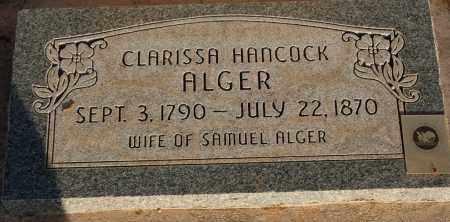 HANCOCK, CLARISSA - Iron County, Utah | CLARISSA HANCOCK - Utah Gravestone Photos