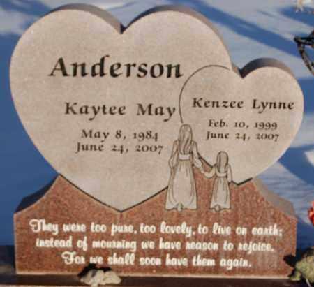 ANDERSON, KAYTEE MAY - Iron County, Utah | KAYTEE MAY ANDERSON - Utah Gravestone Photos