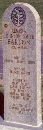 JOHNSON BARTON, ALMERA WOODWARD - Iron County, Utah | ALMERA WOODWARD JOHNSON BARTON - Utah Gravestone Photos