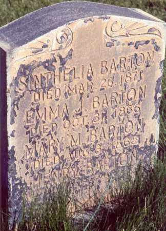 GUYMON BARTON, SYNTHELIA - Iron County, Utah | SYNTHELIA GUYMON BARTON - Utah Gravestone Photos