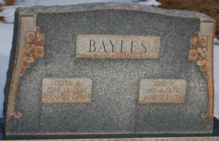 BAYLES, NEITA B. - Iron County, Utah | NEITA B. BAYLES - Utah Gravestone Photos