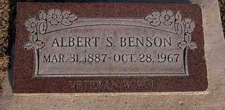 BENSON, ALBERT S. - Iron County, Utah | ALBERT S. BENSON - Utah Gravestone Photos
