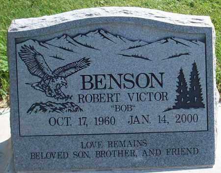 BENSON, ROBERT VICTOR - Iron County, Utah   ROBERT VICTOR BENSON - Utah Gravestone Photos