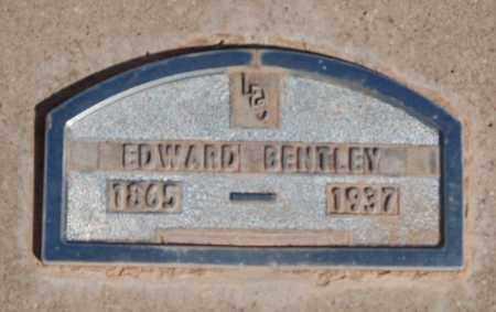 BENTLEY, EDWARD - Iron County, Utah   EDWARD BENTLEY - Utah Gravestone Photos