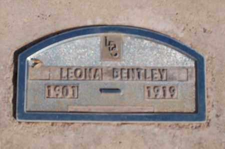 BENTLEY, LEONA - Iron County, Utah | LEONA BENTLEY - Utah Gravestone Photos