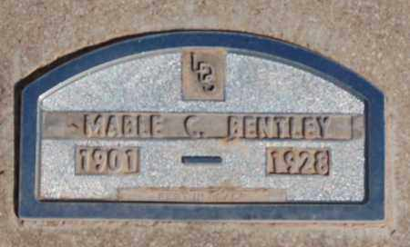 BENTLEY, MABLE C. - Iron County, Utah | MABLE C. BENTLEY - Utah Gravestone Photos