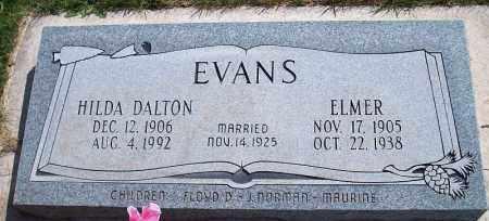 DALTON EVANS, HILDA - Iron County, Utah   HILDA DALTON EVANS - Utah Gravestone Photos