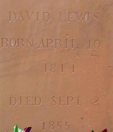 LEWIS, DAVID - Iron County, Utah   DAVID LEWIS - Utah Gravestone Photos