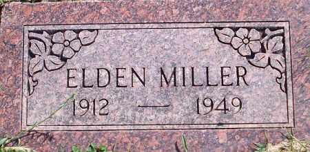 MILLER, ELDEN - Iron County, Utah | ELDEN MILLER - Utah Gravestone Photos