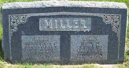 CARSON MILLER, REBECCA ANN - Iron County, Utah | REBECCA ANN CARSON MILLER - Utah Gravestone Photos