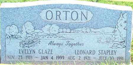 GLAZE ORTON, EVELYN - Iron County, Utah | EVELYN GLAZE ORTON - Utah Gravestone Photos