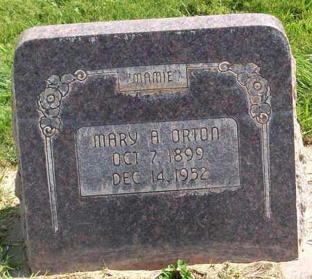 STAPLEY ORTON, MARY ANN - Iron County, Utah | MARY ANN STAPLEY ORTON - Utah Gravestone Photos